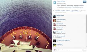 Mærsk Line - instagram, brug af hashtags